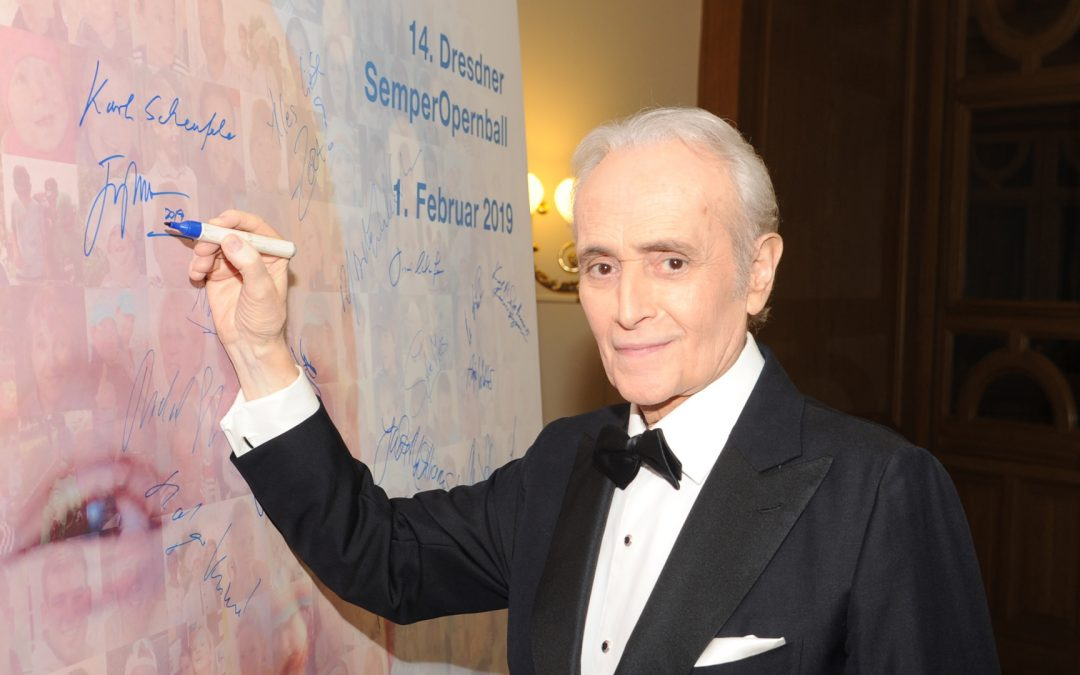 José Carreras beim SemperOpernball 2019